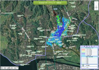 P1__島根県が公表したため池ハザードマップより松江市中心街にほど近い「深町池」の事例.jpg