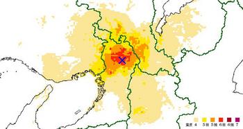 P1_大阪府北部の地震「推計震度分布図」.jpg